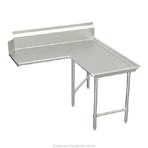 Elkay SLCDTLI-60-R Dishtable Clean L Shaped (Magnified)