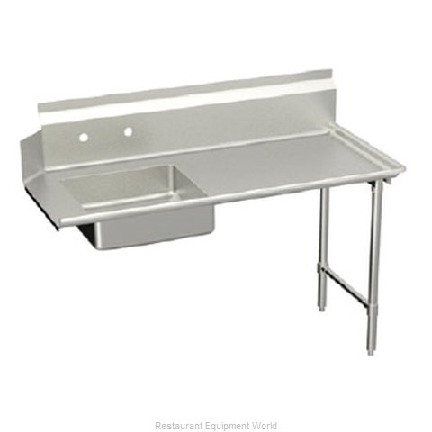 Elkay SLDDT-72-R Dishtable, Soiled (Magnified)