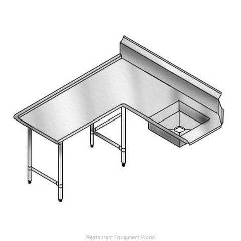 Elkay SLDDTLI-120-L Dishtable Soiled