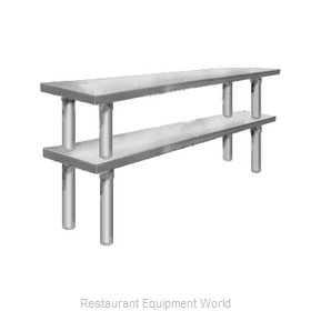 Elkay TMS-2-16-48 Overshelf, Table-Mounted