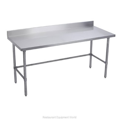 Elkay WT24X120-BSX Work Table 120 Long Stainless steel Top (Magnified)