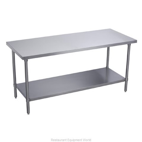 Elkay WT30S72-STGX Work Table 72 Long Stainless steel Top (Magnified)