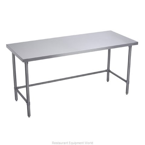 Elkay WT30X72-STSX Work Table 72 Long Stainless steel Top (Magnified)