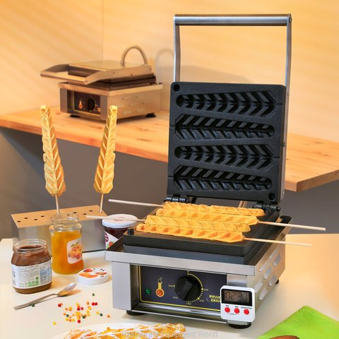 Equipex GES23 Waffle Maker