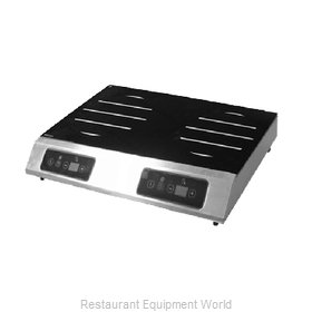 Equipex GL2-5000 Induction Range, Countertop