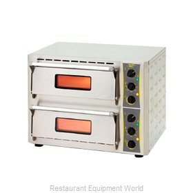 Equipex PZ-430D Oven, Electric, Countertop