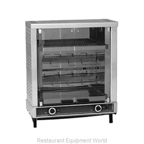 Equipex RBE-8/1 Oven, Electric, Rotisserie