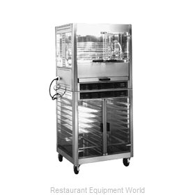 Equipex RE-2 Electric Rotisserie Warming Cabinet