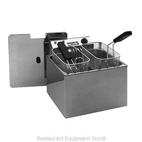Equipex RF12SP Fryer, Electric, Countertop, Full Pot