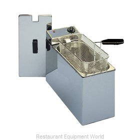 Equipex RF5S Fryer, Electric, Countertop, Full Pot