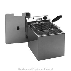 Equipex RF8SP Fryer, Electric, Countertop, Full Pot
