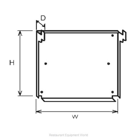 Equipex SM-2 Wall mounting kit