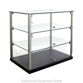 Equipex TN583 Display Case, Non-Refrigerated Countertop