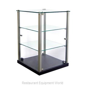 Equipex TP353 Display Case, Non-Refrigerated Countertop