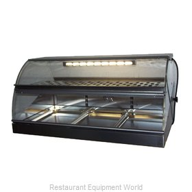 Equipex VHC-1000 Display Case, Heated Deli, Countertop