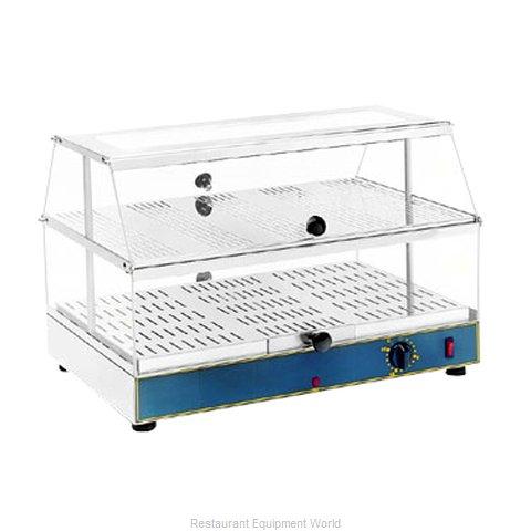 Equipex WD-200 Display Case, Hot Food, Countertop