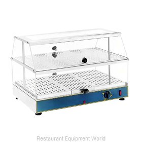 Equipex WD-200 Display Case, Hot Food, Countertop