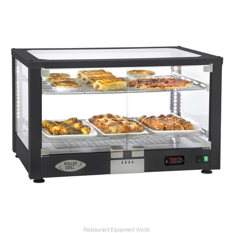 Equipex WD780B-2 Display Case, Hot Food, Countertop