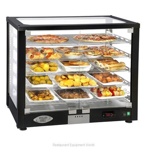 Equipex WD780B-3 Display Case, Hot Food, Countertop