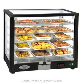 Equipex WD780B-3 Display Case, Hot Food, Countertop