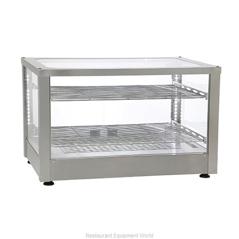 Equipex WD780SS-2 Display Case, Hot Food, Countertop