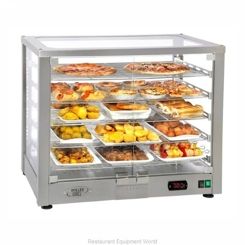 Equipex WD780SS-3 Display Case, Hot Food, Countertop
