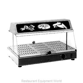 Equipex WDL-100 Display Case, Hot Food, Countertop