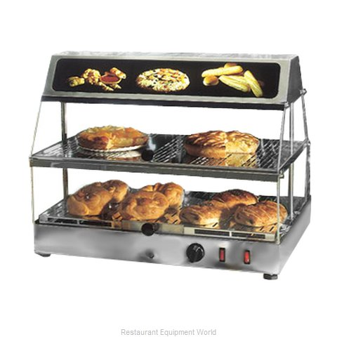 Equipex WDL-200 Display Case, Hot Food, Countertop
