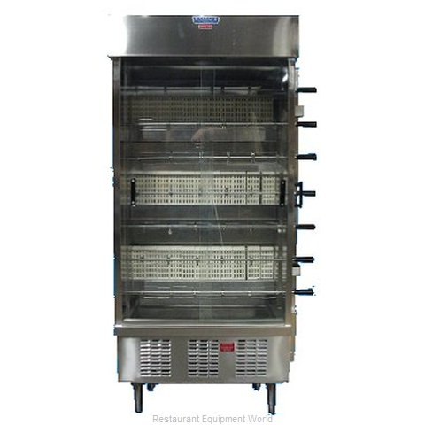 Esquire FL-7G Rotisserie Oven (Magnified)