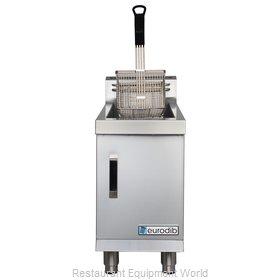 Eurodib CF15L Fryer, Gas, Countertop Full Pot