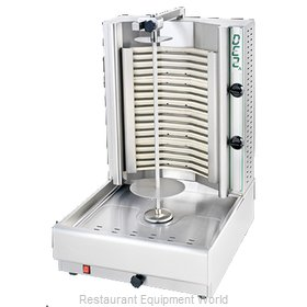 Eurodib DE2A Vertical Broiler (Gyro), Electric