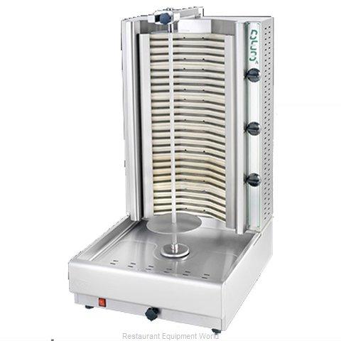 Eurodib DE3A Vertical Broiler (Gyro), Electric