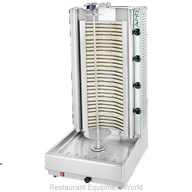 Eurodib DE4A Vertical Broiler (Gyro), Electric