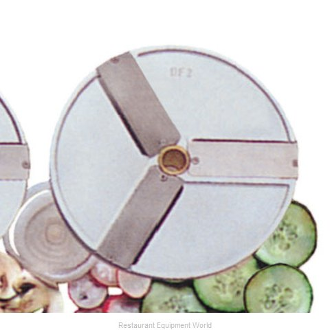 Eurodib DF1 Food Processor, Slicing Disc Plate (Magnified)
