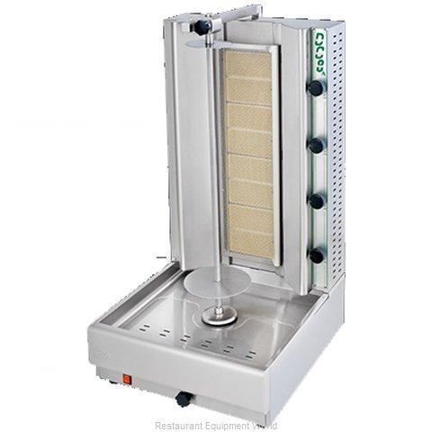 Eurodib DG10A Vertical Broiler (Gyro), Gas