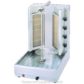 Eurodib DG12V Vertical Broiler (Gyro), Gas