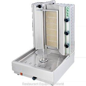Eurodib DG6A Vertical Broiler (Gyro), Gas