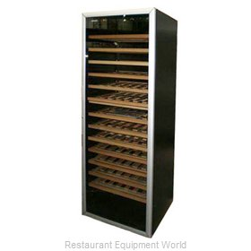 Eurodib EDBMTVD Reach-in Wine Refrigerator 1 section