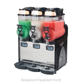 Eurodib OASIS3 Frozen Drink Machine, Non-Carbonated, Bowl Type