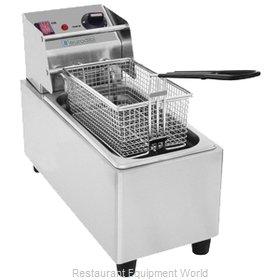 Eurodib SFE01860D-120 Fryer, Electric, Countertop, Full Pot