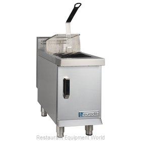 Eurodib T-CF15 Fryer, Gas, Countertop Full Pot