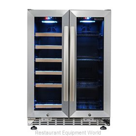 Eurodib USF36B Refrigerator, Wine, Reach-In