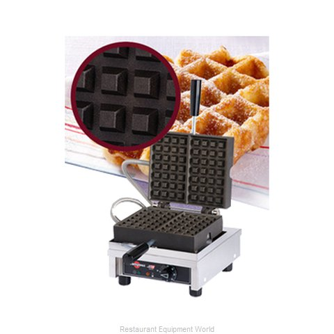 Eurodib WECCHCAS Waffle Baker (Magnified)
