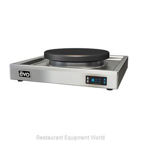 EVO 10-0030-EL Round Griddle / Fry Top, Electric