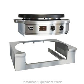 EVO 11-0120-ATM Round Griddle / Fry Top, Accessories