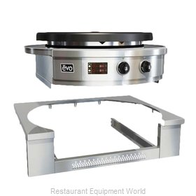 EVO 11-0123-ATK Round Griddle / Fry Top, Accessories