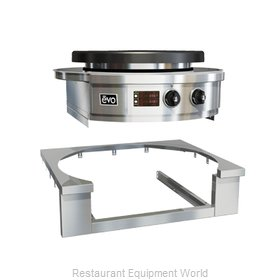 EVO 11-0126-ATK Round Griddle / Fry Top, Accessories