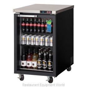 Everest Refrigeration EBB23G Back Bar Cabinet, Refrigerated