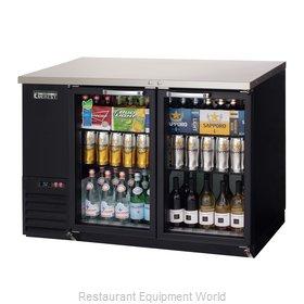 Everest Refrigeration EBB48G-24 Back Bar Cabinet, Refrigerated