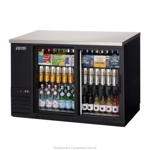 Everest Refrigeration EBB48G-SD Back Bar Cabinet, Refrigerated (Magnified)